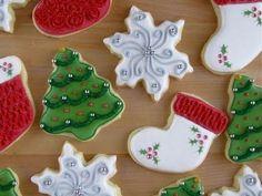 Cómo Decorar Galletas de Navidad | Ideas Super Fácil - YouTube