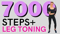 🔥7000 STEPS🔥Fast Walking for Weight Loss🔥LEG TONING Exercises🔥STEPS WORKOUT🔥Fat Burning Walk🔥 - YouTube Leg Toning, Toning Exercises, Fast Walking, Walking Exercise, Workout Videos, Fat Burning, Fitness Tips, Weight Loss, Youtube