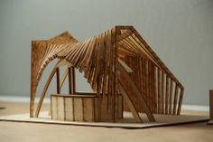 Architectural model making guide from First In Architecture Conceptual Model Architecture, Dynamic Architecture, Architecture Model Making, Architecture Concept Drawings, Pavilion Architecture, Wood Architecture, Architecture Portfolio, Sustainable Architecture, Residential Architecture
