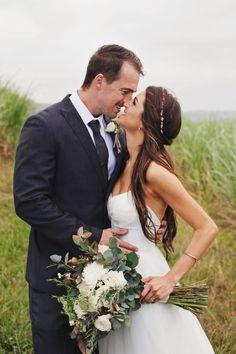 Glitter & Greenery Wedding by Carmen Roberts   SouthBound Bride