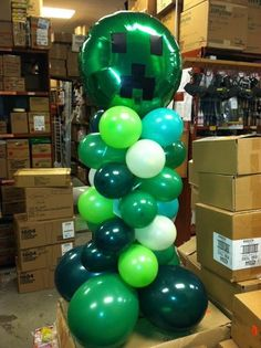 Creeper Balloons