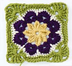 Crochet : Carré 51 & 52 - Le blog de mes loisirs