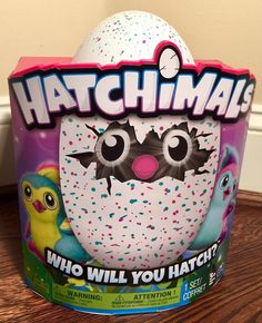 New Hatchimals Pengualas Pink Teal Egg Interactive Toy 2016 SpinMaster In Hand  | eBay