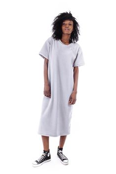 FAUX/real Snuggle Long Shirt with Silver Hardware