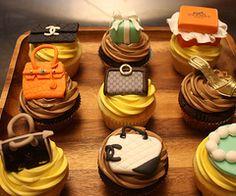 fashionable purses cupcakes
