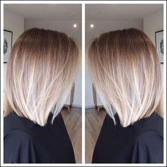 Image result for balayage ombre bob | Blond | Pinterest | Frisur ...
