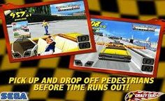 UberPOOL is a real-life version of Crazy Taxi (arcade later dreamcast).