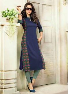 Salwar Designs, Printed Kurti Designs, New Kurti Designs, Kurta Designs Women, Kurti Designs Party Wear, Blouse Designs, Simple Kurta Designs, Stylish Dress Designs, Designs For Dresses