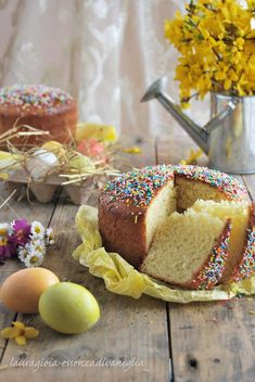 This dessert is the right one to celebrate Easter. You can find here the recipe and have fun preparing it with all your friends! Italian Cookies, Italian Desserts, Italian Recipes, Easter Deserts, Easter Treats, Cooking Chef, Fun Cooking, Holiday Bread, Sweet Cakes