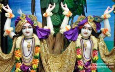 To view Gopinath Close Up Wallpaper of ISKCON Chowpatty in difference sizes visit - http://harekrishnawallpapers.com/sri-sri-nitai-gaurachandra-close-up-wallpaper-009/