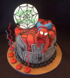 Lexi said she wanted a Spiderman birthday party this year