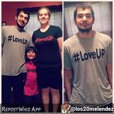 Thanks for the ❤️⬆️ By @los20melendez via @RepostWhiz app: My family and I got our #LoveUp shirts today! So excited for these shirts and plan to buy plenty more! Love the concept and the meaning behind it, we all should LOVE UP and give thanks to the life we have everyday! #LoveUp #johnjayandrich #jjr #showlove #ELE #everybodyloveeverybody (#RepostWhiz app) #loveup #blessings #payitforward