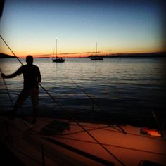 Anchoring in a uninhabited bay near Kakan island. #sailing #sailinglife #anchor #anchoring #sail #sailor #sailingtrip #sailingyacht #sailboat #uninhabited #uninhabitedisland #sailyacht #night #croatia #kakan #sea #sailboat #tenger #summer #memories #vitorlázás #mik #ikozosseg #ihun #ihungary #instakozosseg #instahun #2011 by radoczgabor
