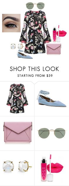 """Floral"" by worthen-ava on Polyvore featuring Michael Kors, Rebecca Minkoff, J.Crew, women's clothing, women, female, woman, misses and juniors"