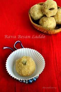 One of the most popular sweets in India is the delicious Laddo . Laddo is the term given to a sweet that's round in shape . It can be made with various ingredients , adding loads of ghee and dry fruits to it. This particular Rava besan laddo is a Maharashtrian recipe , made almost for every festival .