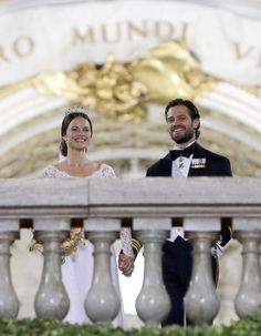 Look Back at the Most Breathtaking Pictures From Last Year's Swedish Royal Wedding