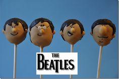 Beatles cake pops