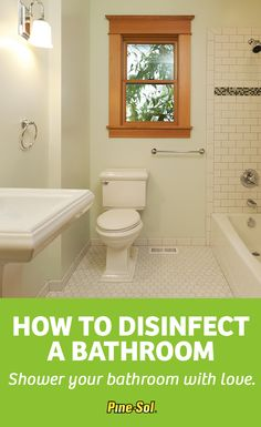 Don't blush when you flush, give your bathroom a clean sweep with Original Pine-Sol® Multi-Surface Cleaner. Here's how to clean your bathroom.