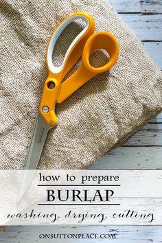 74c470e4646a8 How to Prepare Burlap   3 Burlap Table Runners