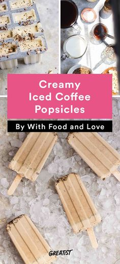 1. Creamy Iced Coffee Popsicles #healthy #popsicle #recipes http://greatist.com/eat/popsicle-recipes-to-keep-you-cool-this-summer