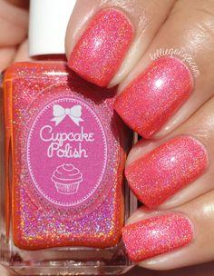 Cupcake Polish Flamingo @kelliegonzoblog