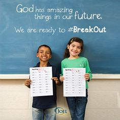 """All the forces of darkness cannot stop God from taking you where He wants you to go! Send us your """"Break Out"""" image before October 30th for a chance to win a signed copy of Break Out!   Share your moment, story or celebration in graphics or photos. Tag @Joel Freixas Osteen Ministries #BreakOut on Twitter and Instagram.   We'll be posting our favorite photos and quotes — one of them could be yours! Enter to win today: http://b.osteen.co/breakoutcontest               Joel Osteen Ministries"""