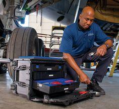 pelican peli products 0450 aviation mechanic mobile toolbox