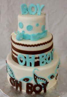Boy oh boy cake