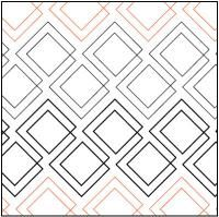 Fusion Pantograph © 2016 Patricia E. Ritter …   Pinteres… : free pantographs for quilting - Adamdwight.com