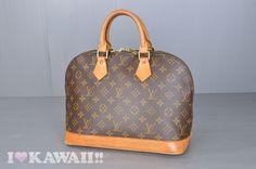 Authentic Louis Vuitton Monogram Alma Hand Bag M51130