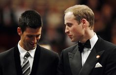 Novak Djokovic & Prince William