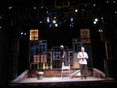 Basic styles of stage set design   The art of faking it - Stage ...