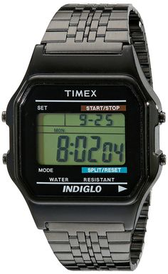 Timex Unisex TW2P48400AB Originals Digital Display Quartz Black Watch ** Check out this great watch.