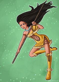 Queen's Crown - Pocahontas by AerianR on DeviantArt