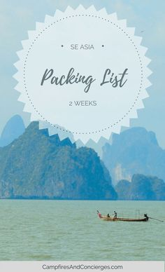 Thailand Packing List What to wear in Thailand for 2 weeks with only a carry-on bag #thailand #southeastasia #packinglist