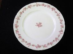 LOT 6 ANTIQUE HAVILAND LIMOGES DINNER PLATES THE FONTAINBLEAU PATTERN GDA FRANCE in Pottery & Glass, Pottery & China, China & Dinnerware, Limoges | eBay