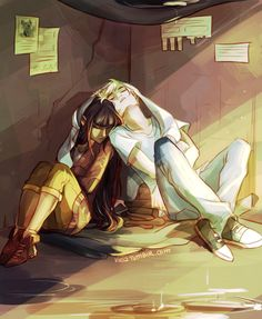 Luke and Thalia slept together like everyday but percy and Annabeth do it once and they get in so much trouble
