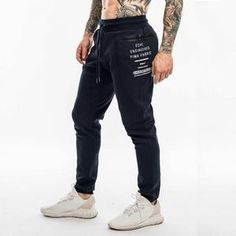 Help For mens fitness exercise Mens Joggers Sweatpants, Slim Fit Joggers, Cuffed Joggers, Jogger Pants, Streetwear Jeans, Track Pants Mens, Basketball Pants, Boys Clothes Style, Men Looks