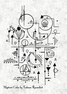 💍💕#รωεεƭร 👑 #ρ૨เɳ૮εรร 🕌 #รɠ33🎥🎬 ∂α૨ℓเɳɠ🍭🍦 ∂α૨ℓα💋 Geometric Shapes Art, Geometric Tattoo Design, Geometric Designs, Geometry Tattoo, Geometry Art, Architecture Symbols, Magic Symbols, Zentangle, Ink Illustrations