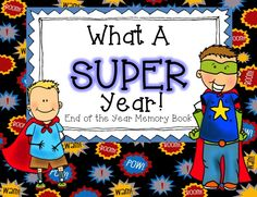 Can you believe we are at the end of the school year already? Students will be so excited to make their own memory book for remembering this special year! Paper is limited this time of year; this book utilizes half sheets!  What You'll Get: 18 pages to customize the PERFECT book!