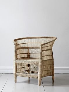French-African wicker chair, hand made. Dimensions may vary slightly from chair to chair. Earthy Home Decor, Natural Home Decor, Unique Home Decor, Home Decor Styles, Vintage Home Decor, Cheap Home Decor, Cheap Bedroom Decor, Guest Bedroom Decor, Bedroom Ideas