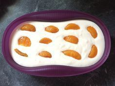 Bodenloser Quarkkuchen Bottomless quark cake, a good recipe from the microwave category. Omelette Meister, Fruit Recipes, Dessert Recipes, Keto Recipes, Tupperware Recipes, Eat Smart, Paleo Dessert, Cheese Dessert, Low Carb Desserts