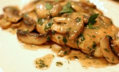 PALEO CHICKEN MARSALA think I might be making this tomorrow:)