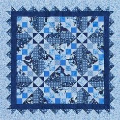 Like the design - Out of the Blue allpeoplequilt.com