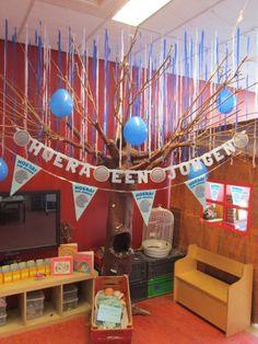Boom tijdens thema: baby in de klas. Nutsschool Maastricht