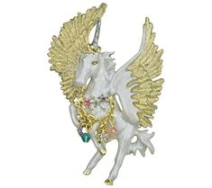 Kirks Folly Prancing Cloudwalker Pin - J489253 Just Shop, Fantasy Jewelry, Horns, Spiral, Dangles, Brooch, Charmed, Fancy, Accessories
