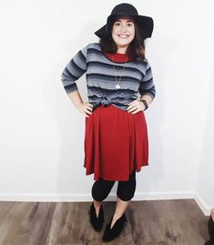 Layering in Style, LuLaRoe Carly, LuLaRoe Lynnae with Devin Zarda! #layers #fashion #devinzarda