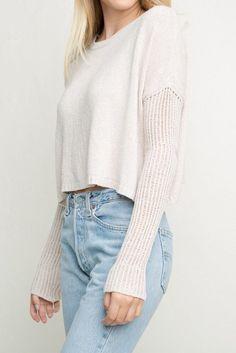 trui en jean.