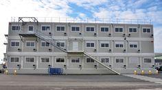 #location 12 mois de #bureaux #modulaires de 1500 m². #Legoupil #industrie.