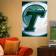 Tulane Green Wave 27'' x 37'' Vertical Banner Flag